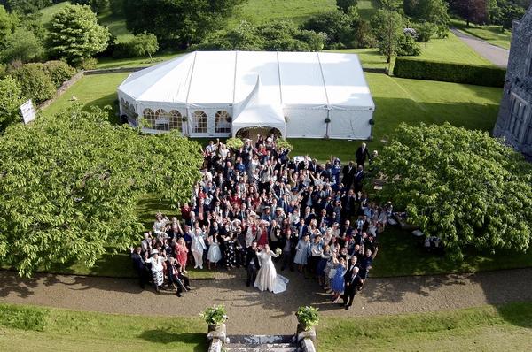 Düğünde Drone Çekimi